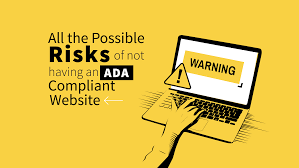 All possible Risks of non compliance with ADA