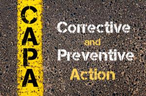 QMS corrective action preventative action